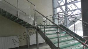 Лестницы из нержавеющей стали и металла